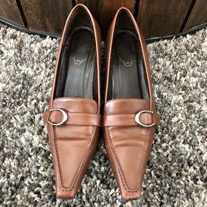 Coach Tamra kitten heels pointy 7.5